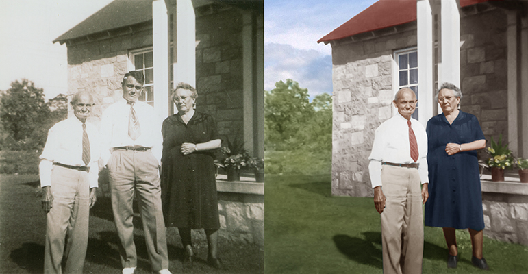 photo restoration Chattanooga Tennessee