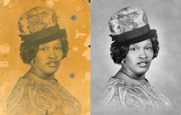 Chattanooga photo restoration