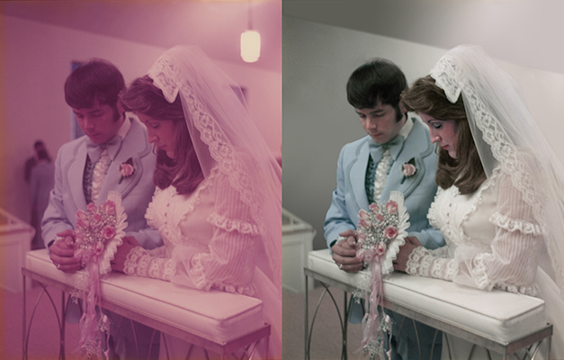 wedding photo Chattanooga photo restoration colorize
