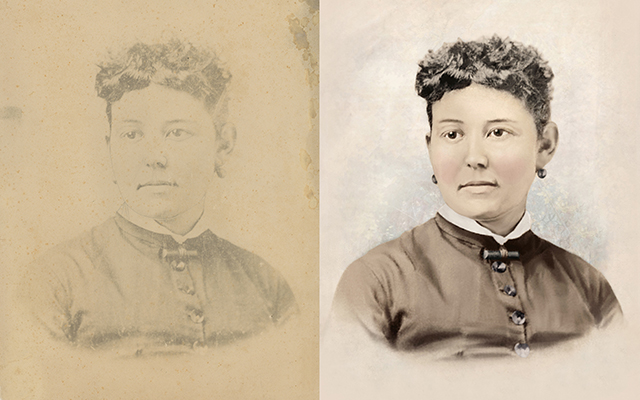 old photograph Chattanooga photo restoration colorization