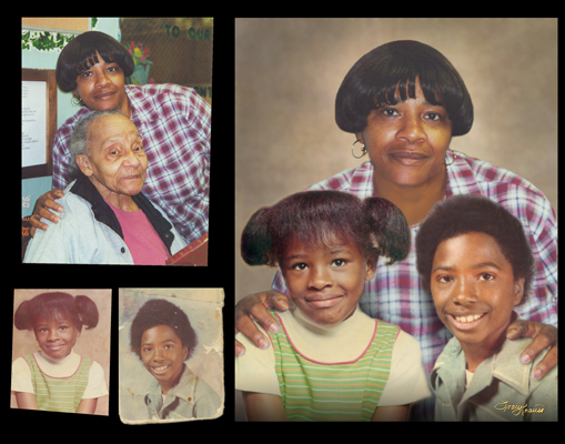 family portrait composite chattanooga photo restoration
