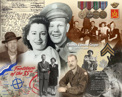 military montage world war two vintage photos chattanooga photo restoration