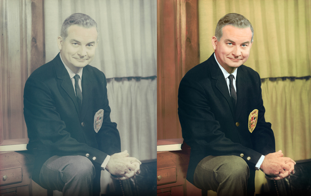 business portrait colorization chattanooga photo restoration