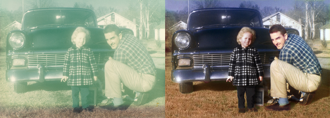 photo restoration Chattanooga Tennesse vintage Chevy Chevrolet